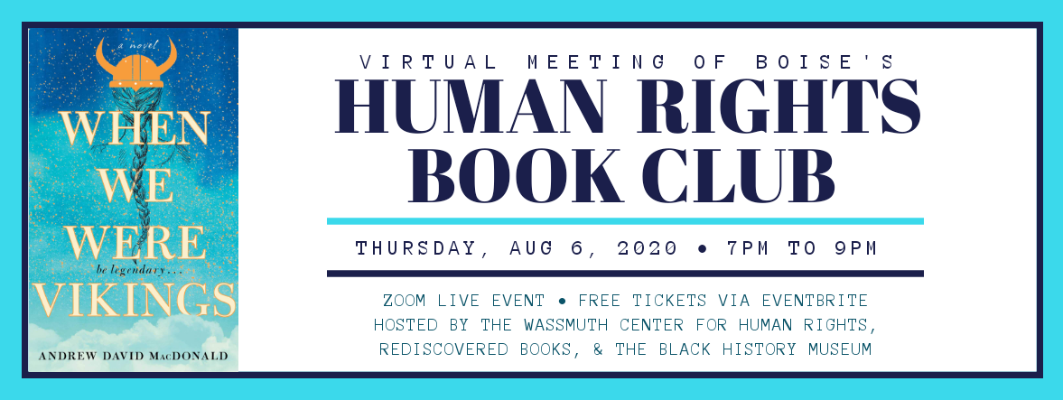Human Rights Book Club August 2020