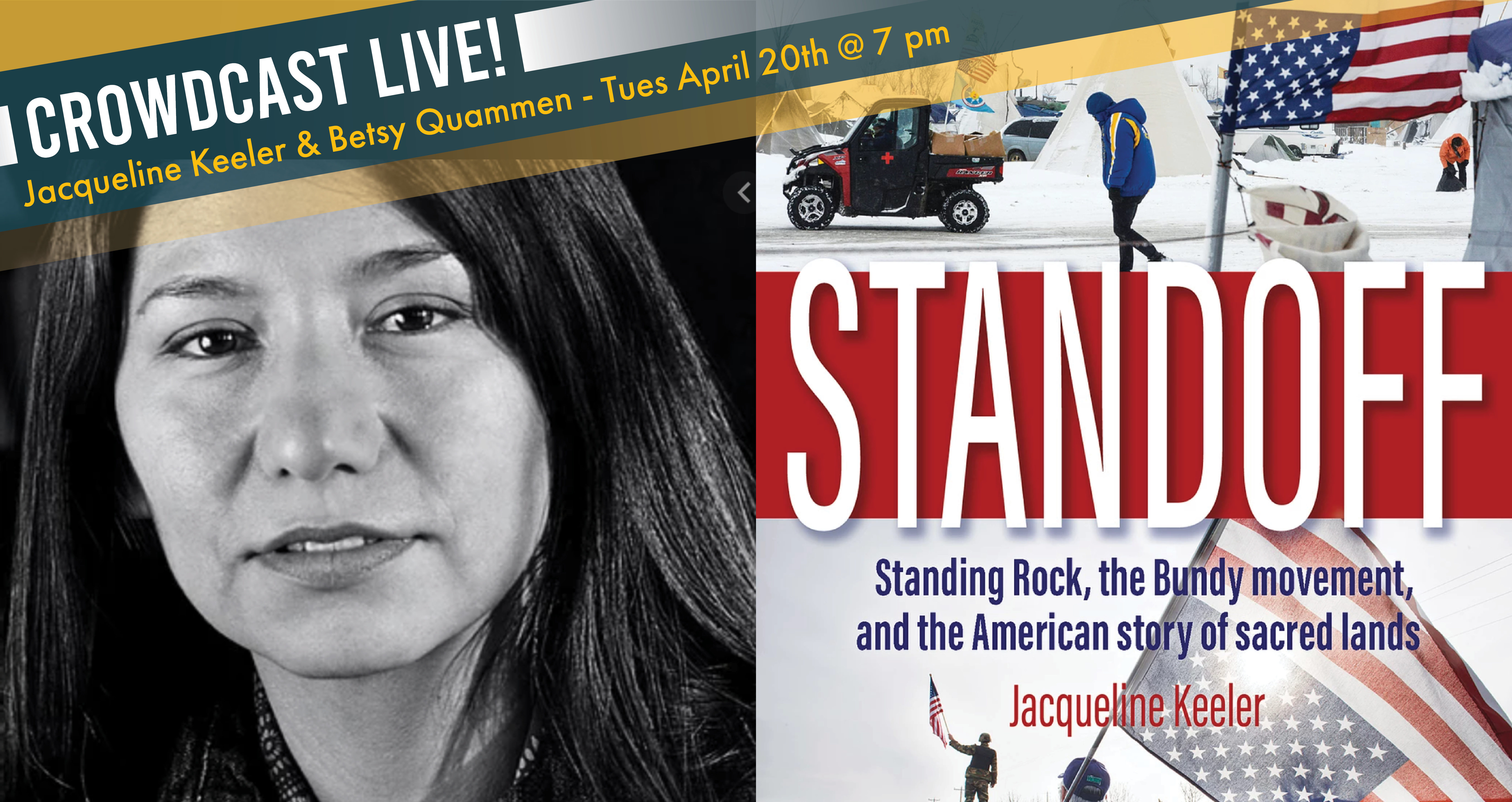 Book Release conversation with journalist and author Jacqueline Keeler