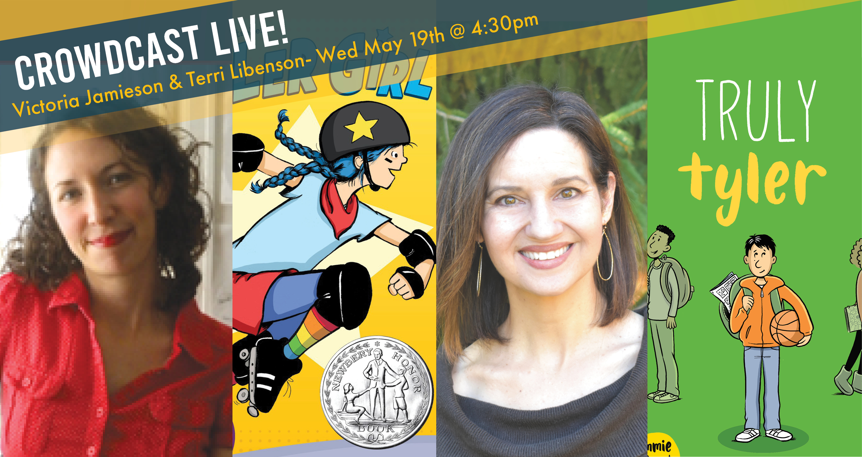 Terri Libenson and Victoria Jamieson Virtual Visit with Rediscovered Books