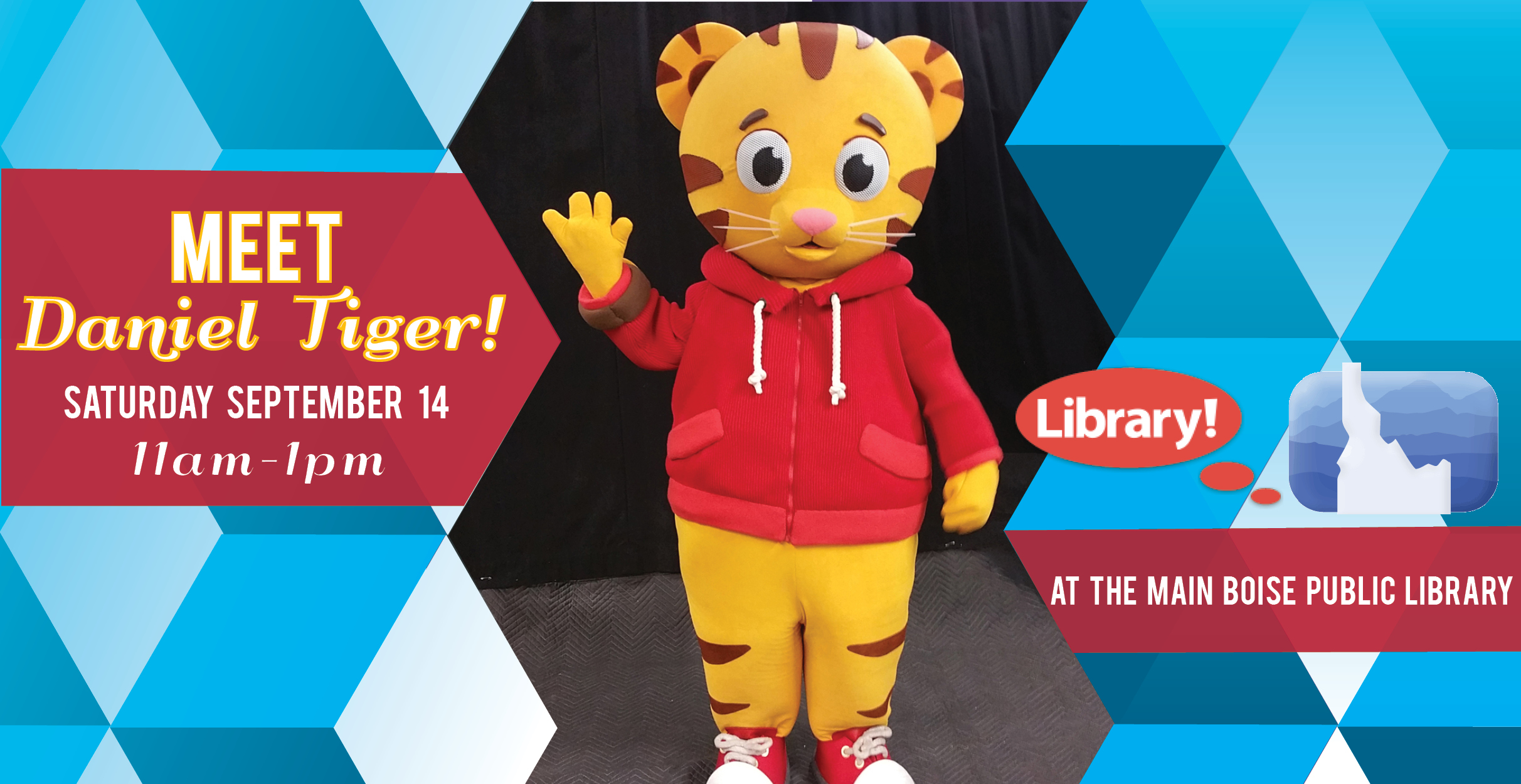 Daniel Tiger at the Library! | The Rediscovered Bookshop
