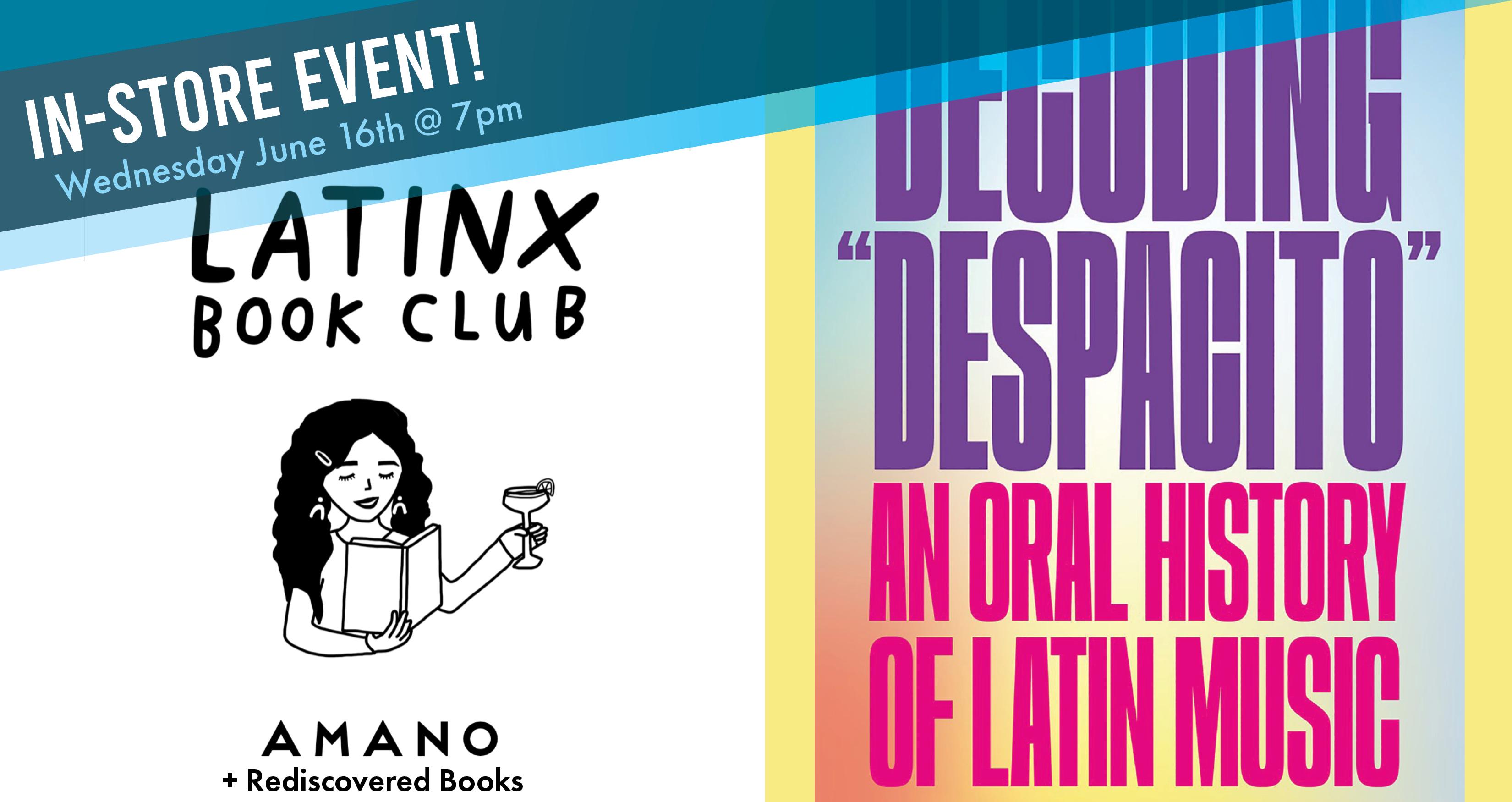 LatinX Book Club - June  Read and Meet