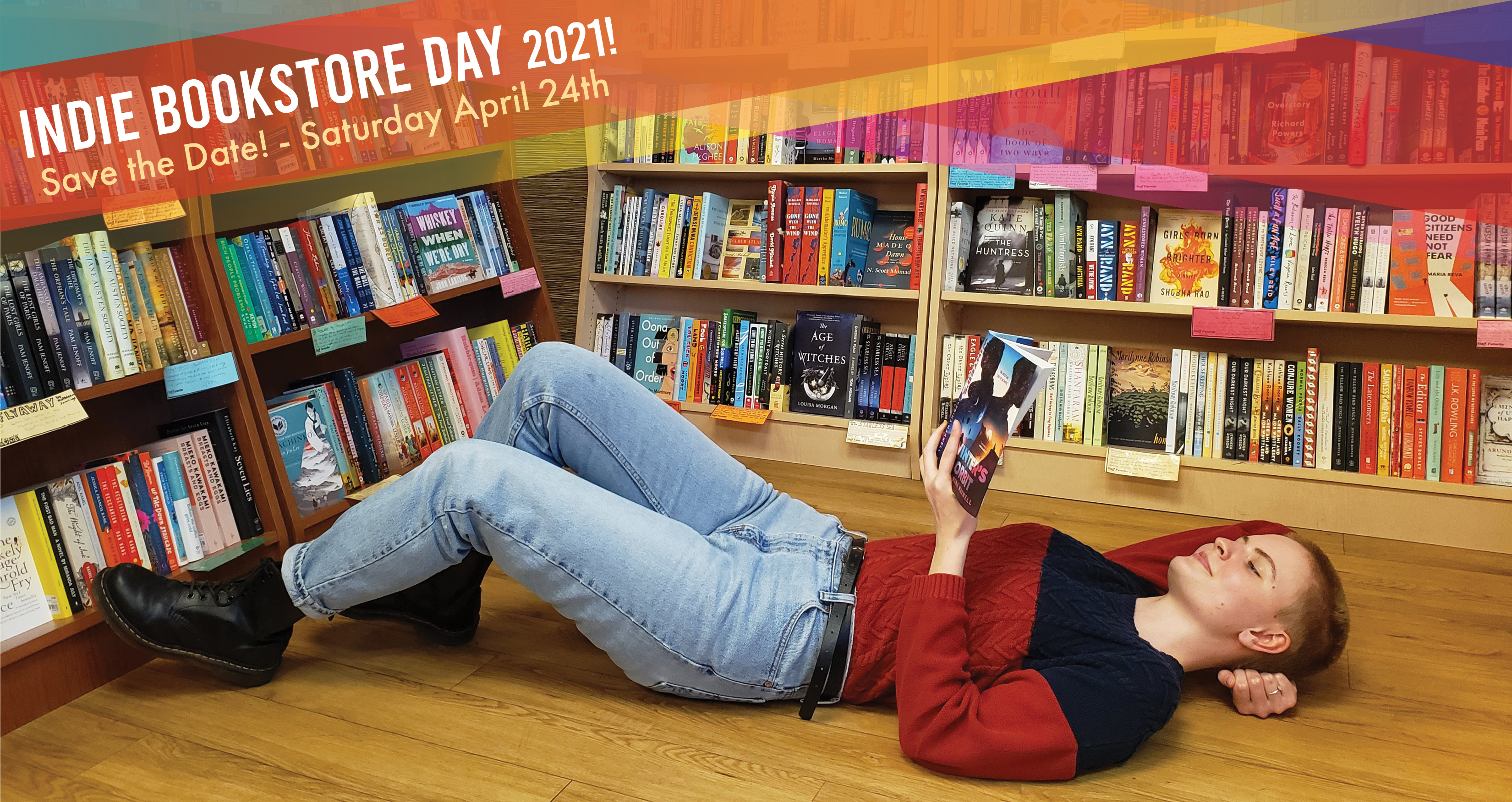 Indie Bookstore Day