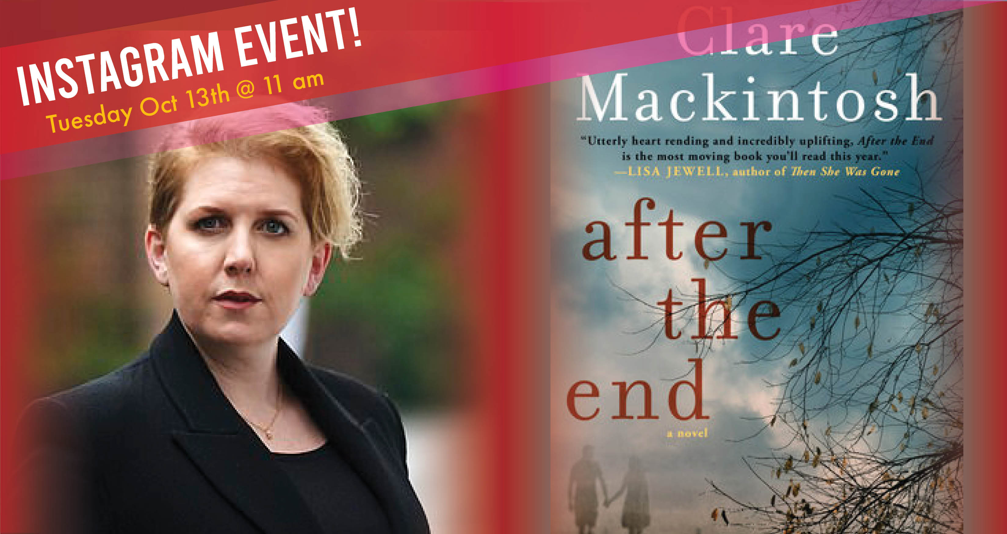 Coffee with Clare - Clare Mackintosh