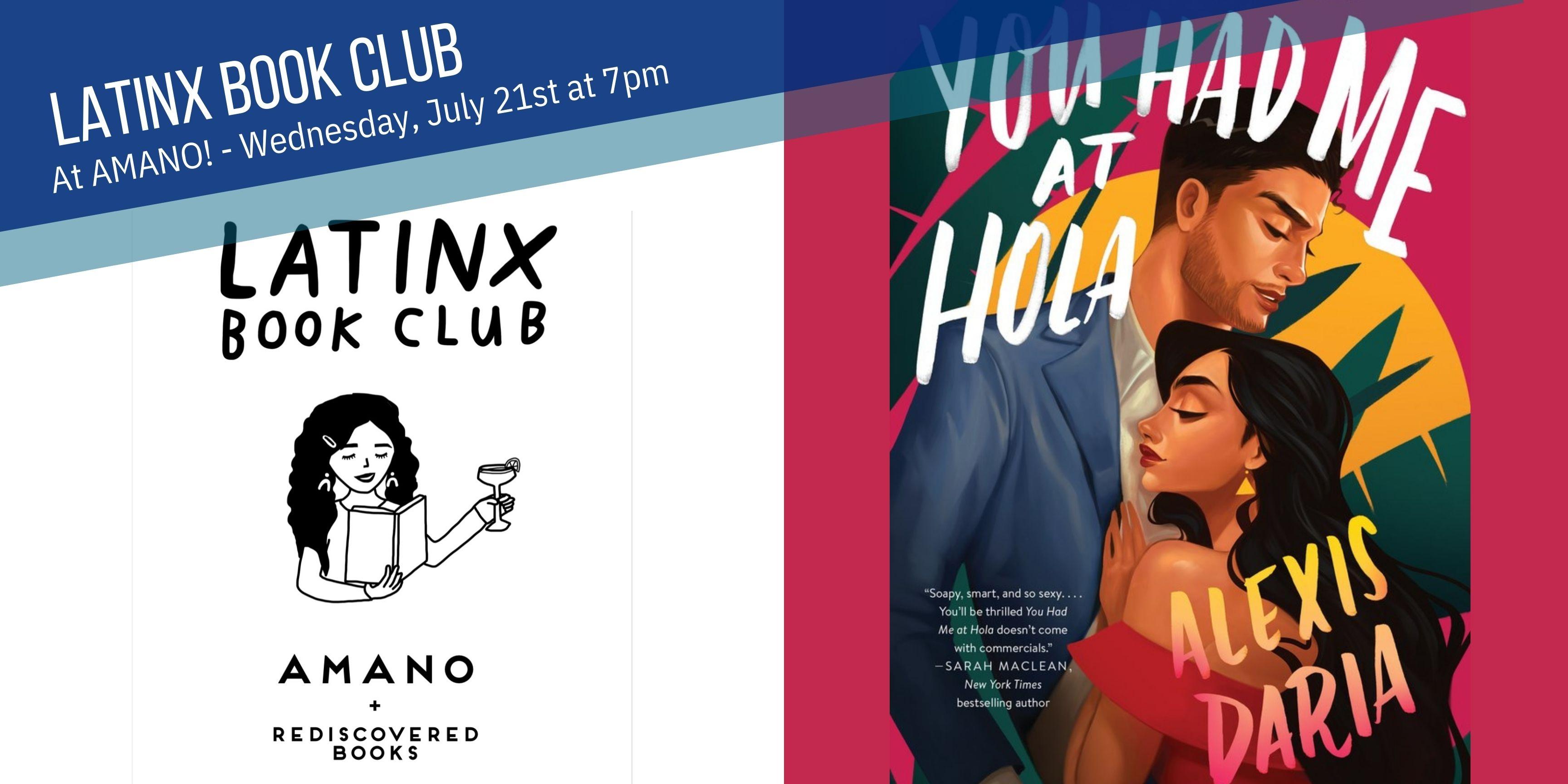 LatinX Book Club - July Meeting
