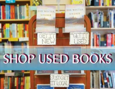 Shop Our Used Books through Biblio.com Graphic