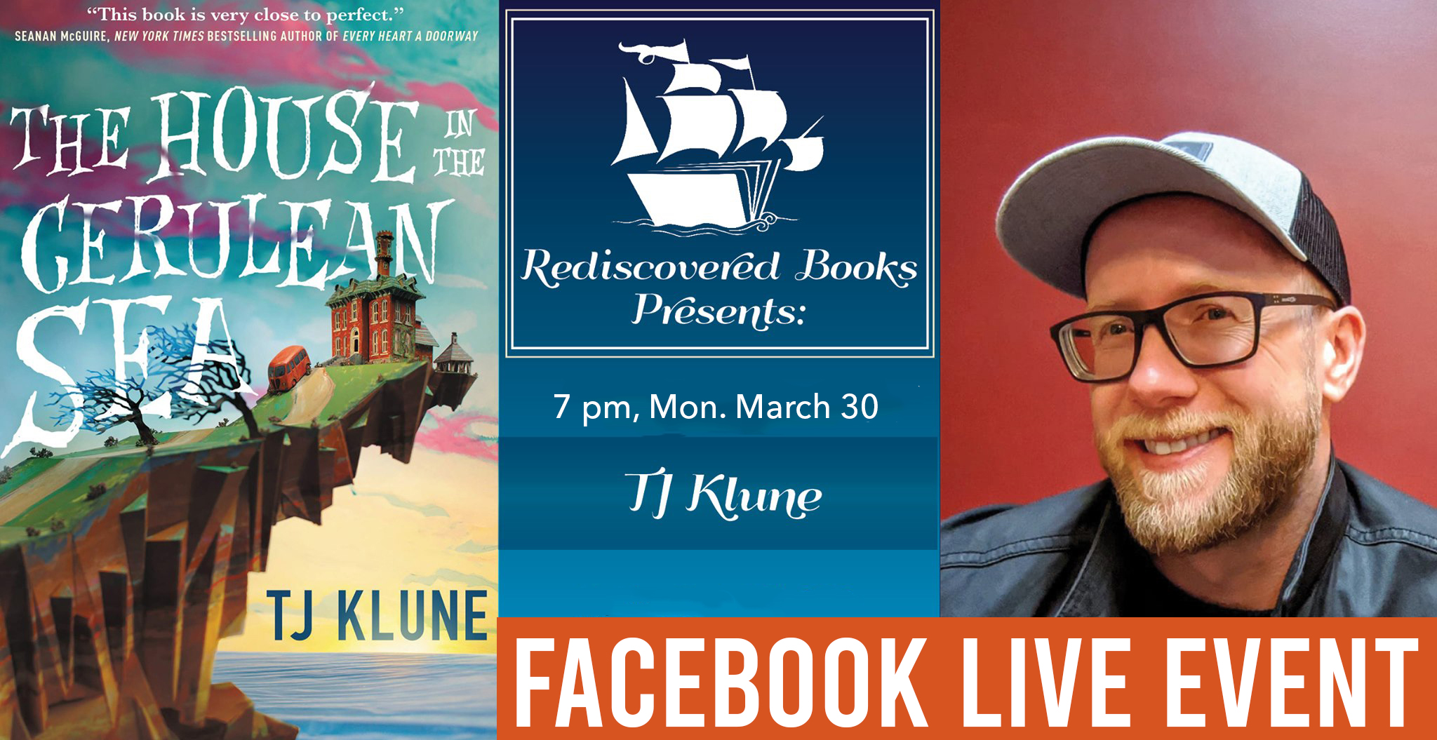 Facebook Live event with TJ KLUNE