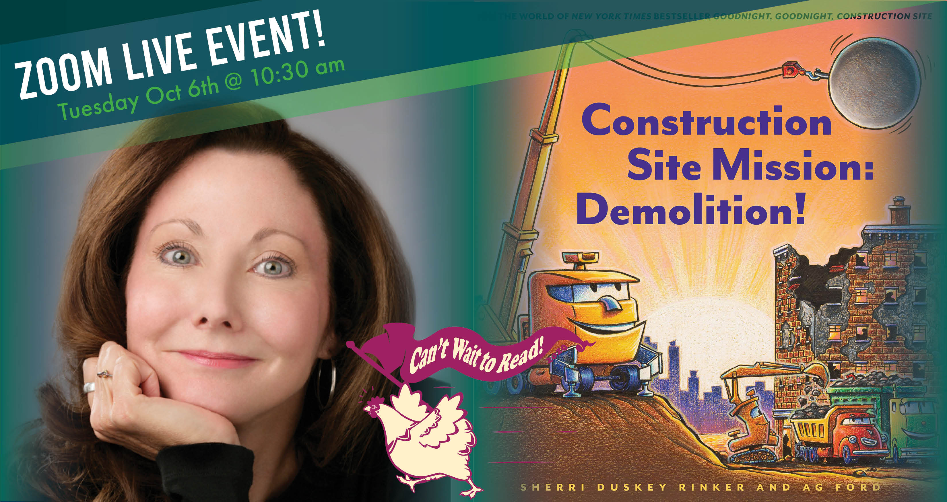 Construction Site Mission: Demolition! - Sherri Duskey Rinker