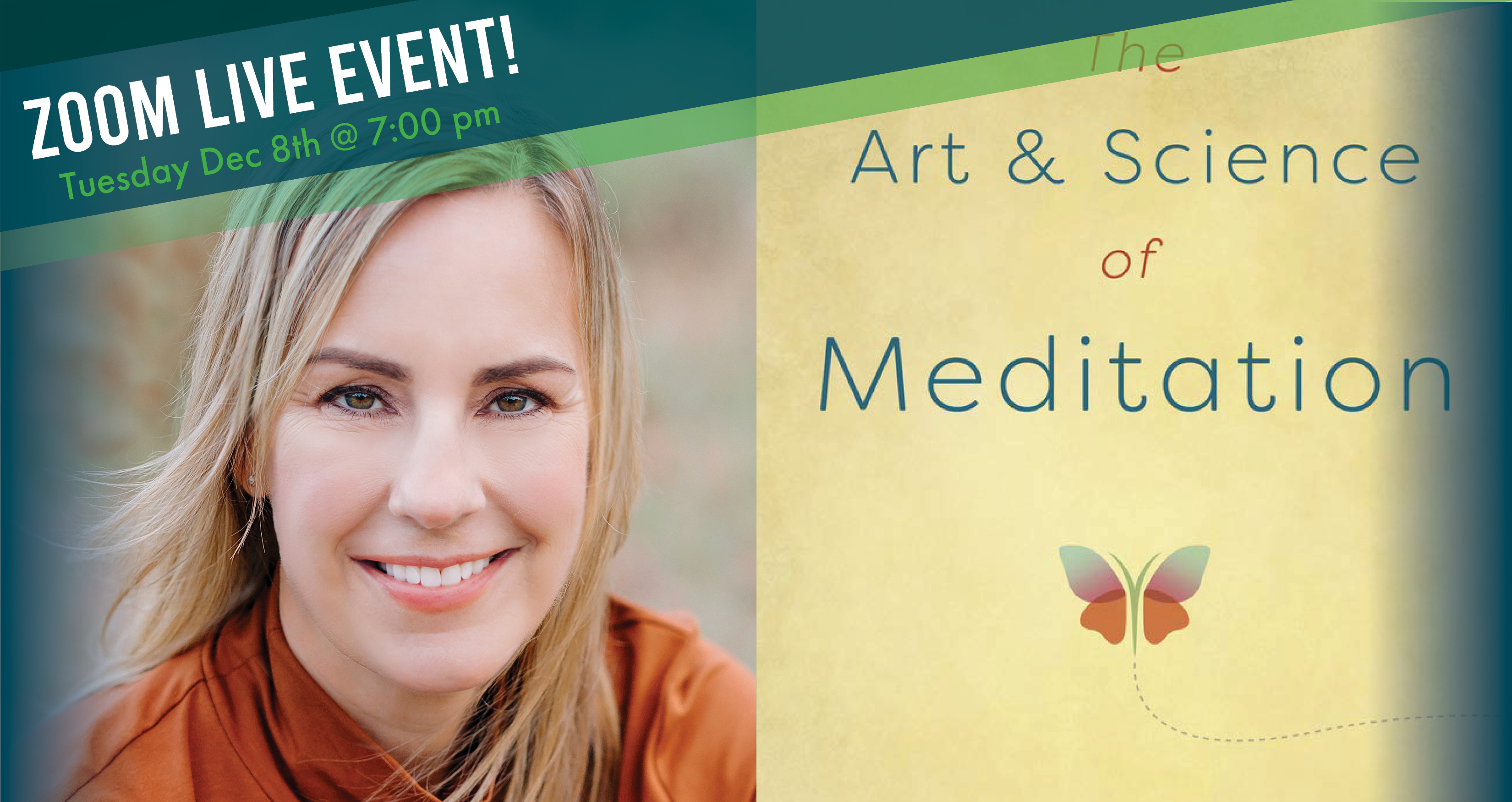 Guided Meditation with Lisa Erickson - The Art & Science of Meditation