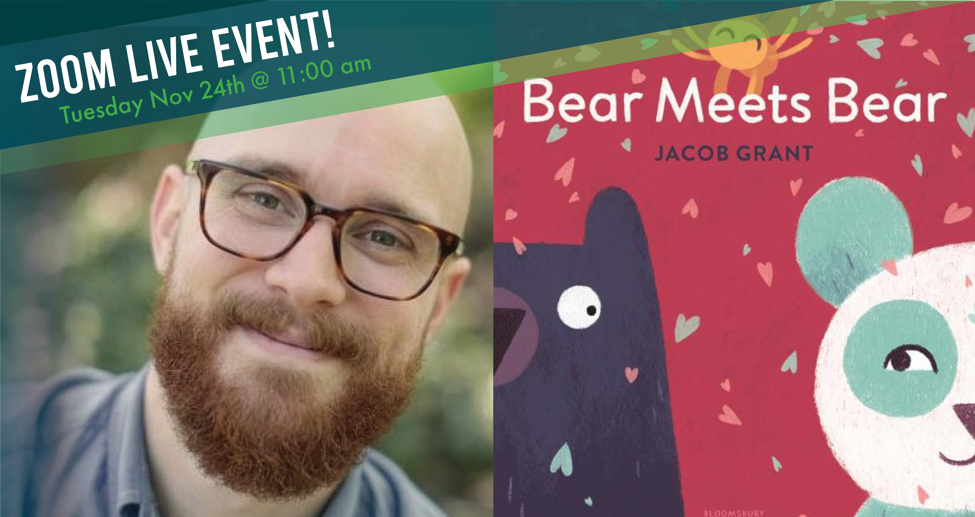 Story Time! - Bear Meets Bear with author Jacob Grant