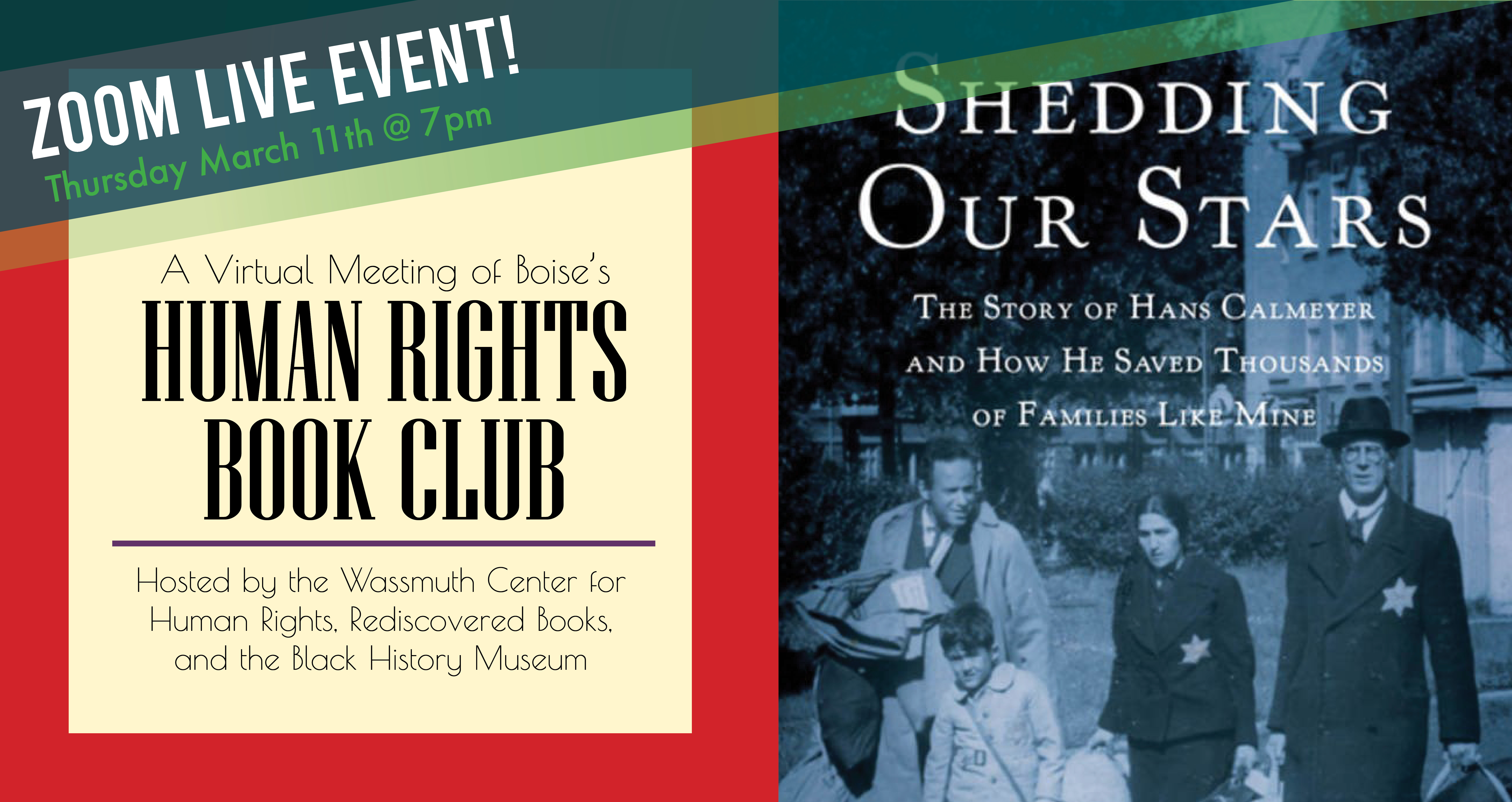 Human Rights Book Club - March Read and Meet