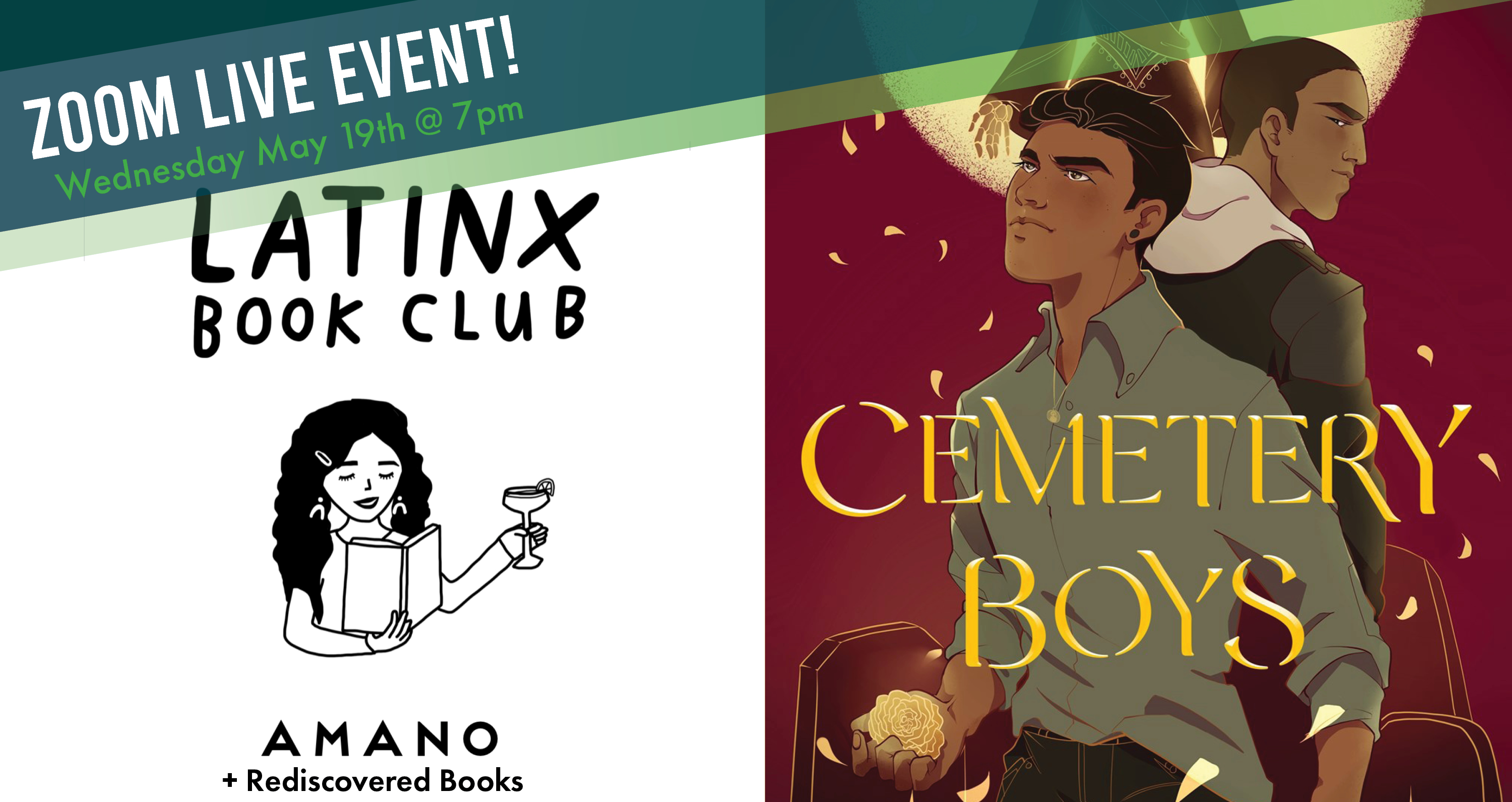 LatinX Book Club - May Read and Meet