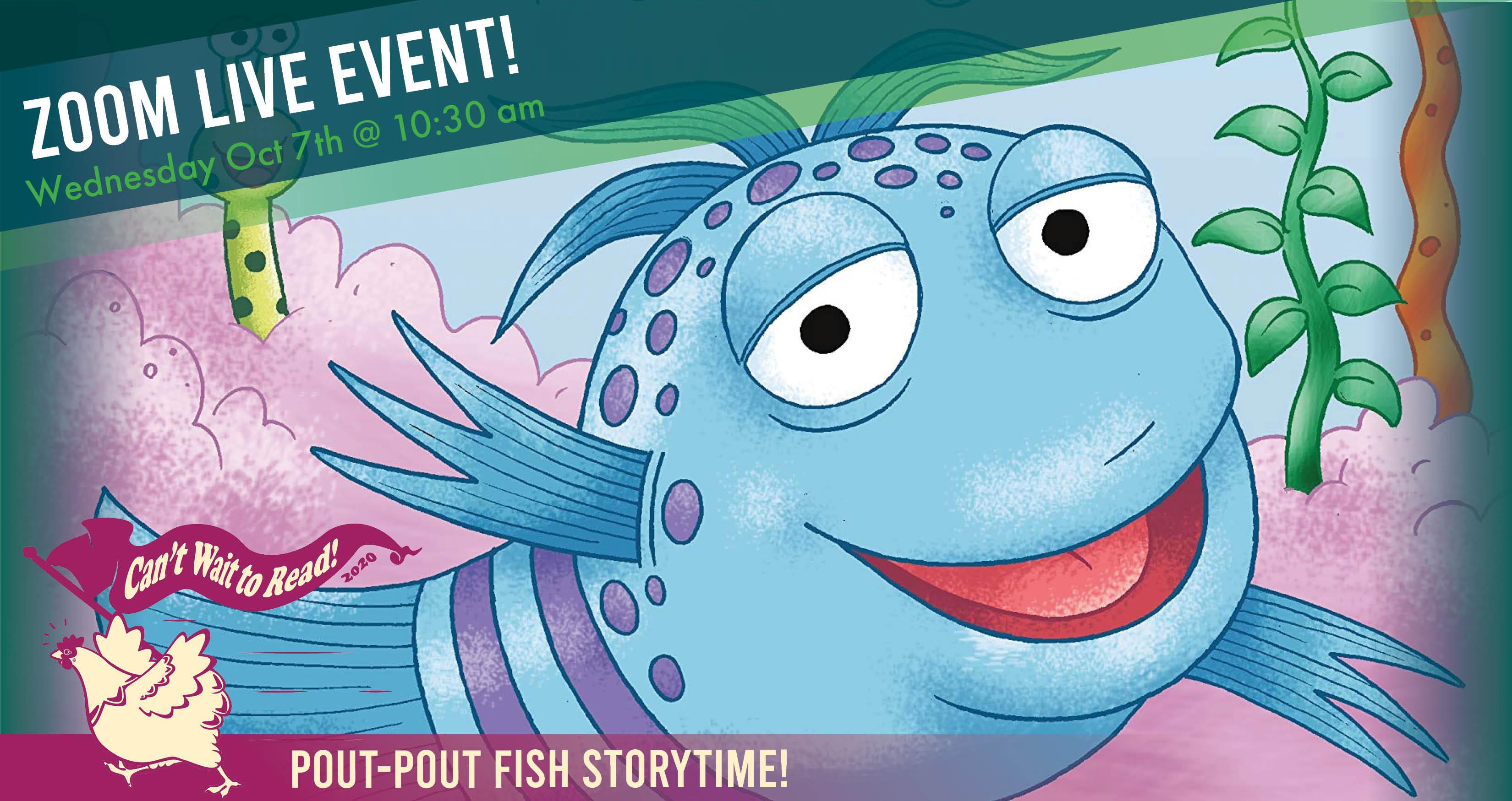 Pout-Pout Fish Story Time - Zoom
