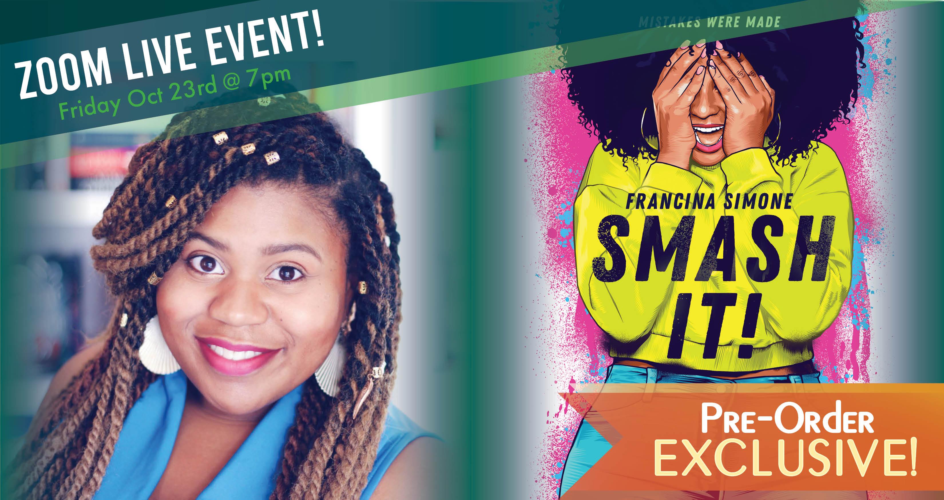 Pre-Order EXCLUSIVE: Francina Simone - Smash It!