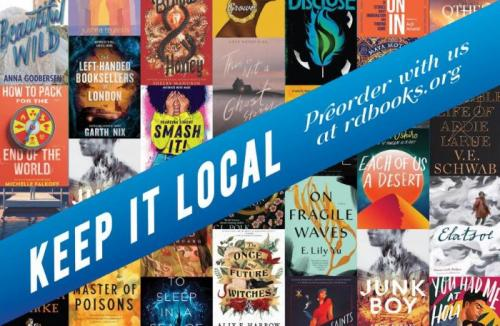 Keep it Local - Pre-Order with your local bookstore - Rediscovered Books