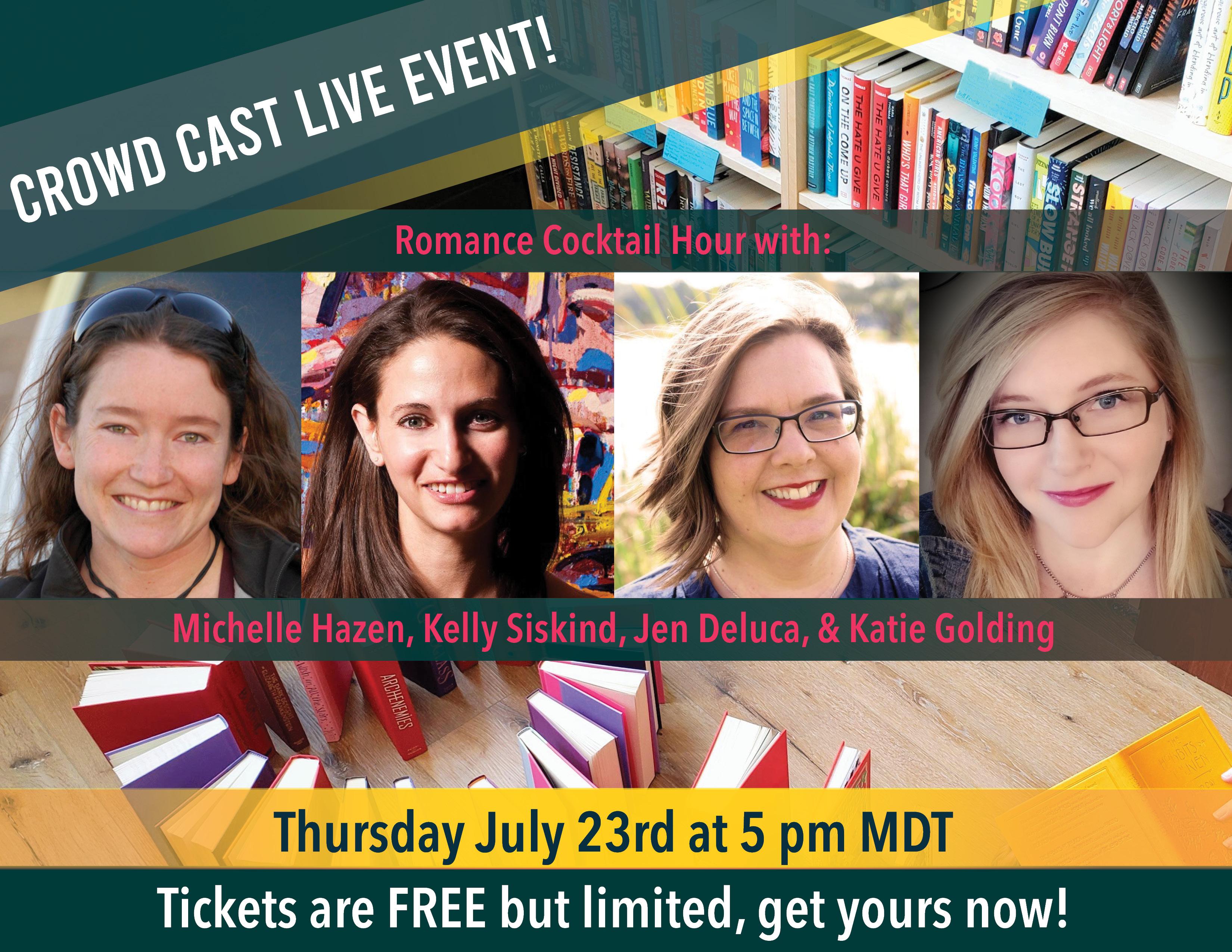 Crowd Cast Live Event - Romance Cocktail Hour