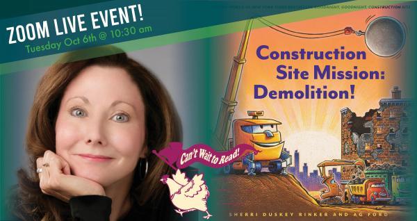 Construction Site Mission: Demolition! - Sherri Duskey Rinker