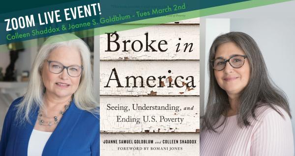 JoAnne Goldblum and Colleen Shaddox - Broke in America - Zoom