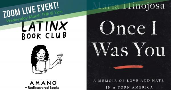 LatinX Book Club - March Read and Meet